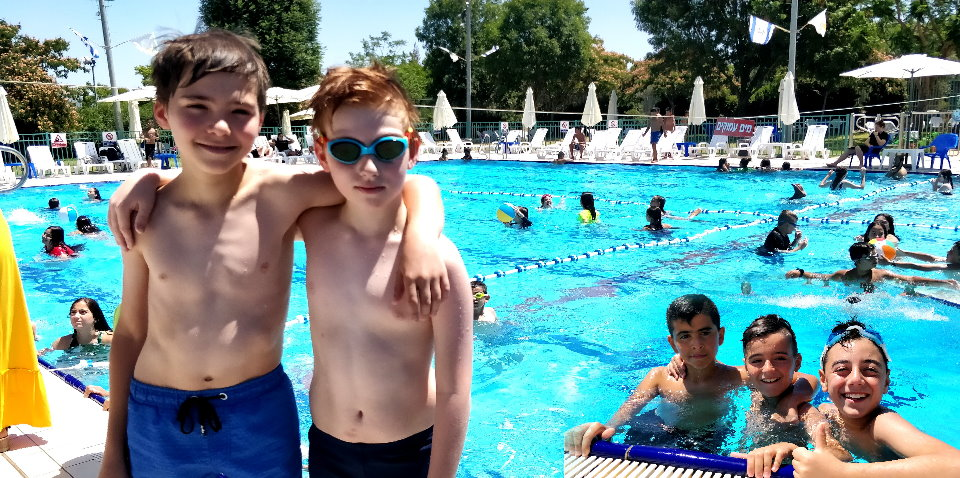 Xקסטרים - מפגש בבריכה (הכרות) 03.07.2019