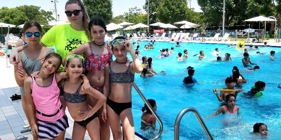 ספורטיכייף - מפגש בבריכה (הכרות) 24.07.2019